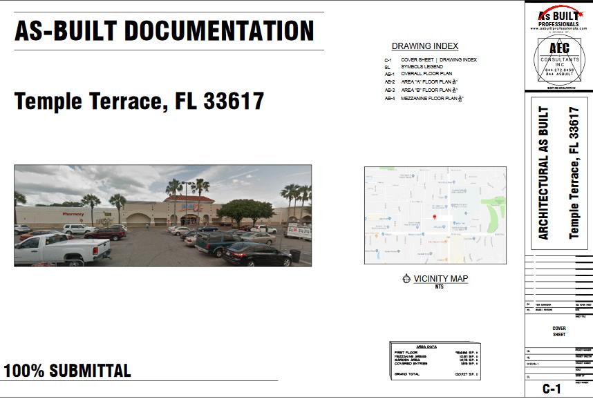 As Built KMART Tampa, FL