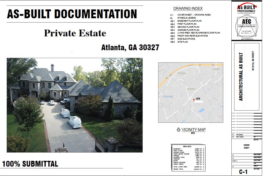 As Built Estate Atlanta, GA