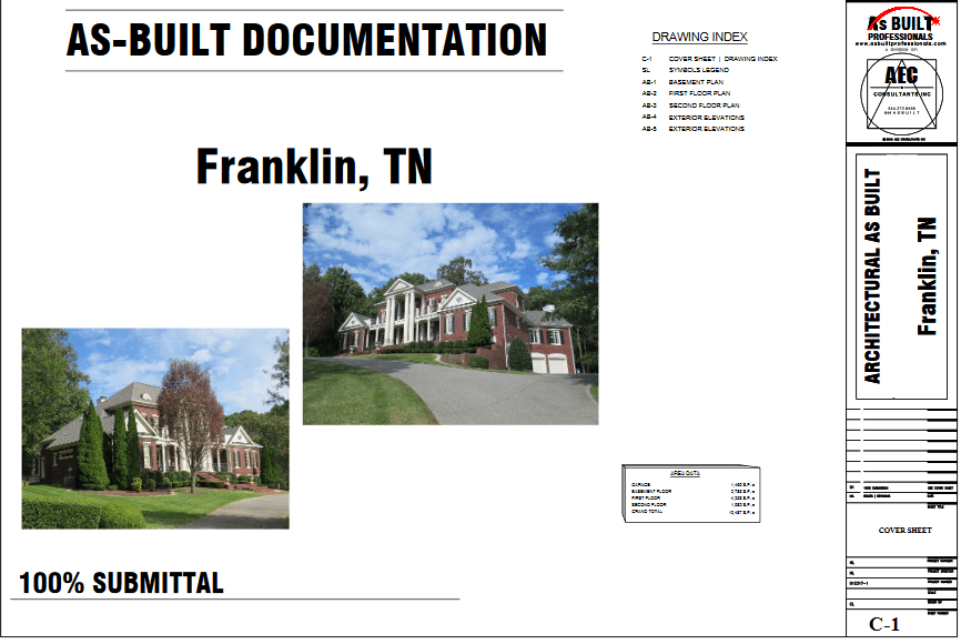 As Built Estate Franklin, TN