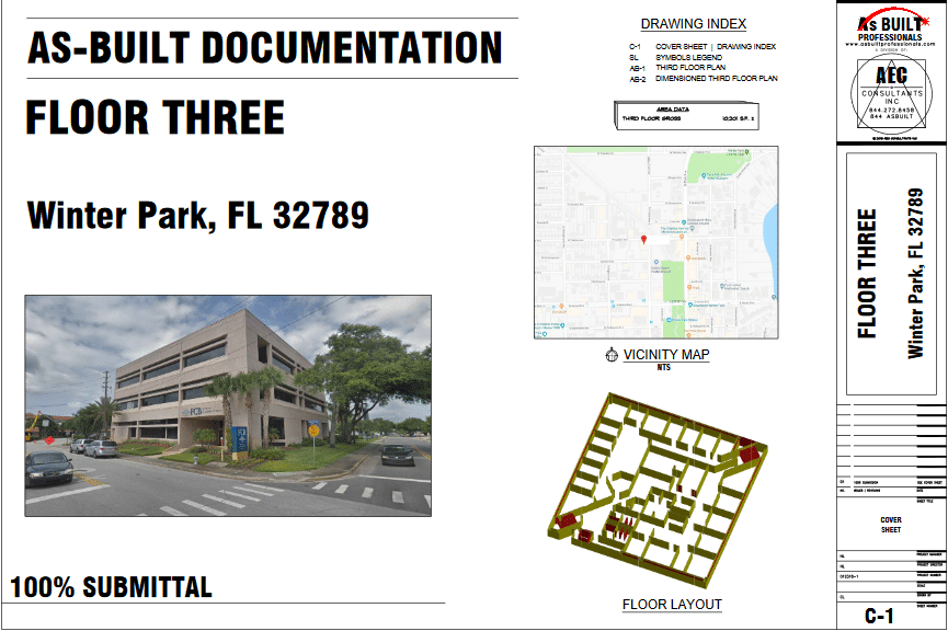 As Built Bank Winter Park, FL