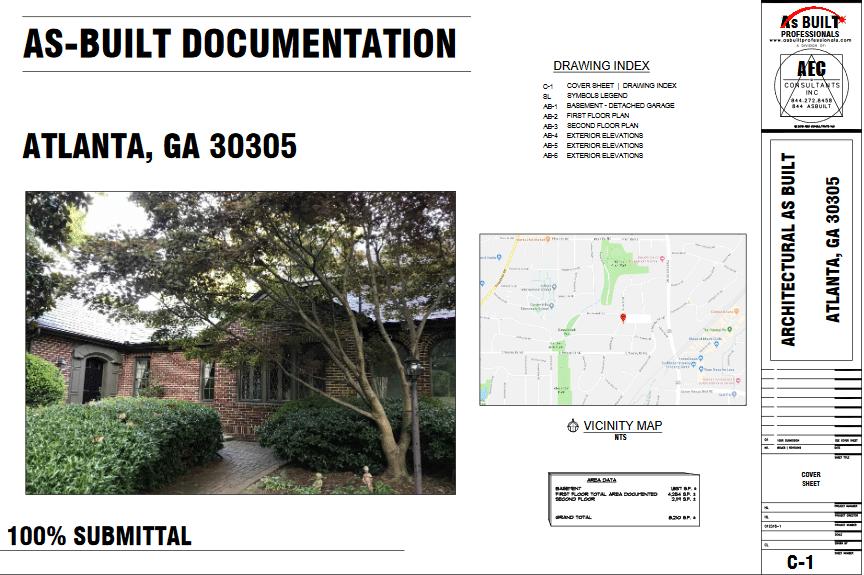 As Built Residence Atlanta, GA