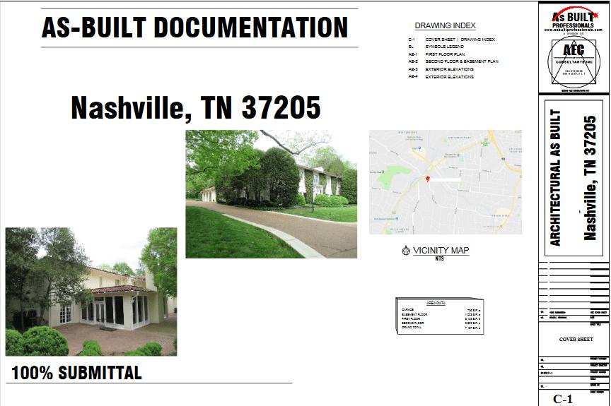 As Built Residence Nashville, TN