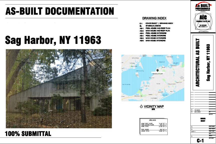 As Built Residence Sag Harbor, NY