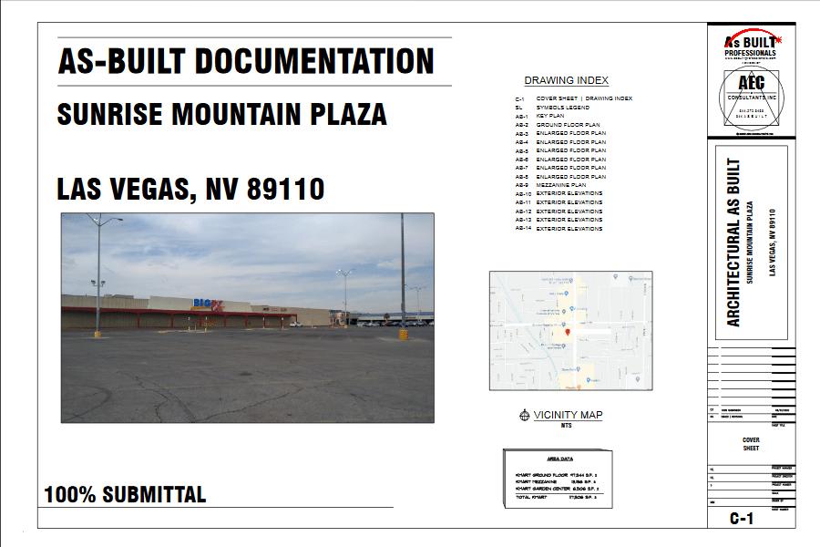 Las Vegas As-Built