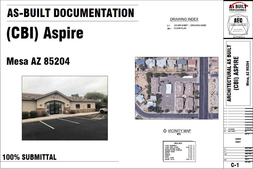 As Built Medical Tx Ctr Mesa, AZ