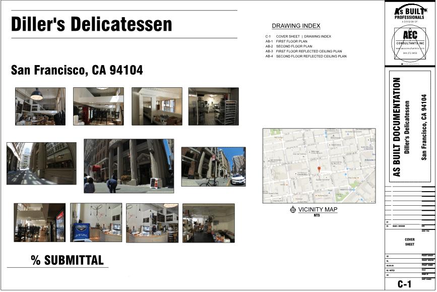 As Built Deli San Francisco CA