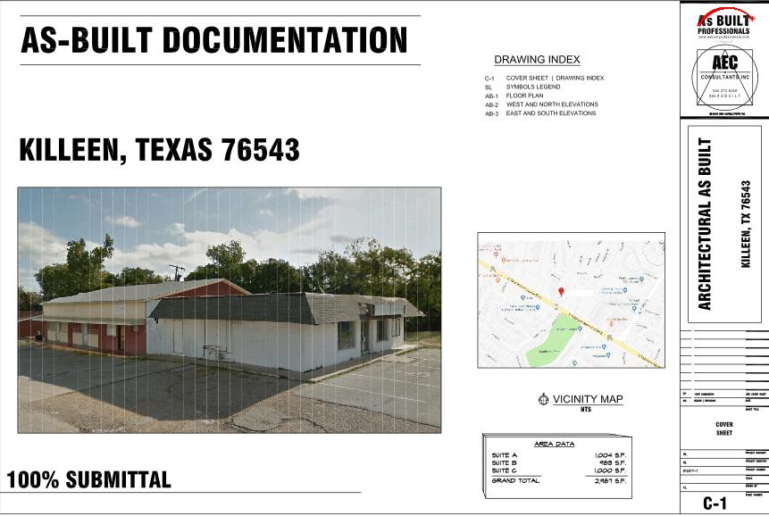 As Built Vacant Office Killeen, TX