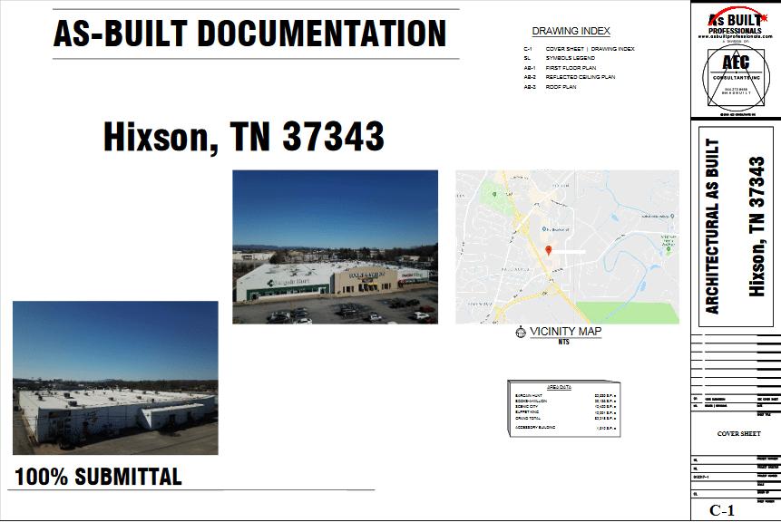 As Built Hixson Plaza TN