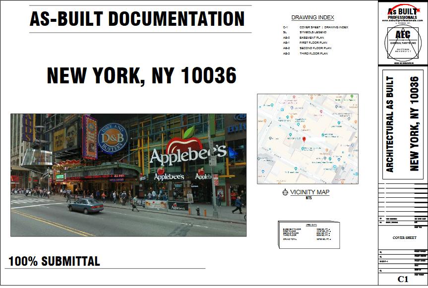 As Built Liberty Theater New York City