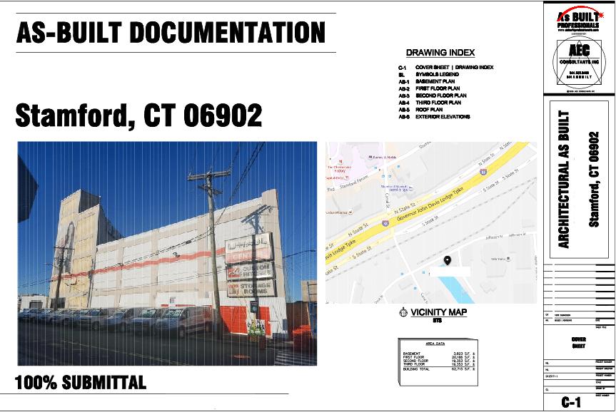 As Built UHaul Stamford CT