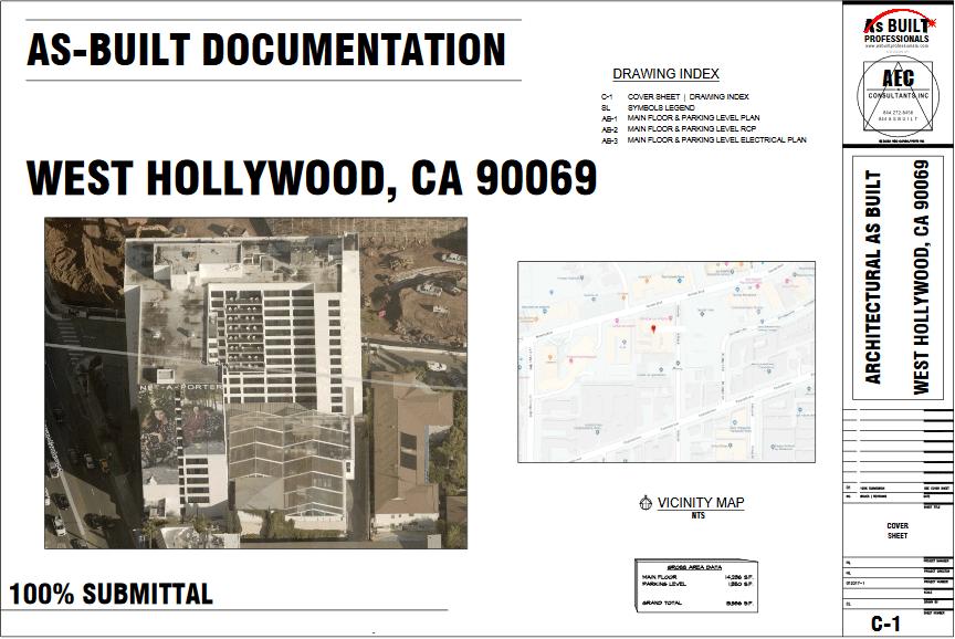As Built Sunset Strip Restaurant West Hollywood, CA