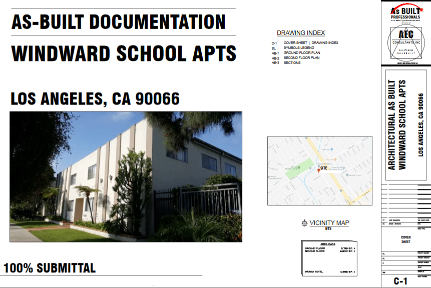 As Built Windward School Apts Los Angeles, CA