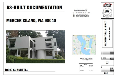 As Built Documentation Mercer Island