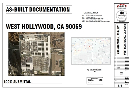 As Built Documentation West Hollywood