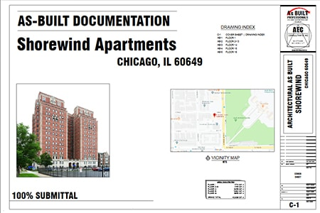 As Built Documentation Shorewind Apartments